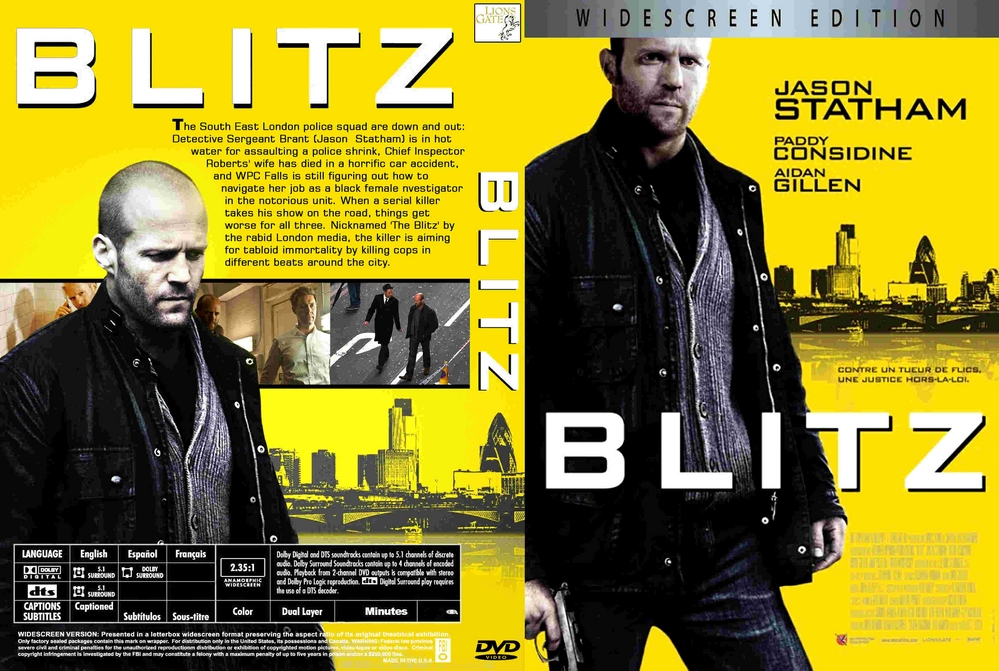 Blitz (2011) Tamil Dubbed Movie HD 720p Watch Online
