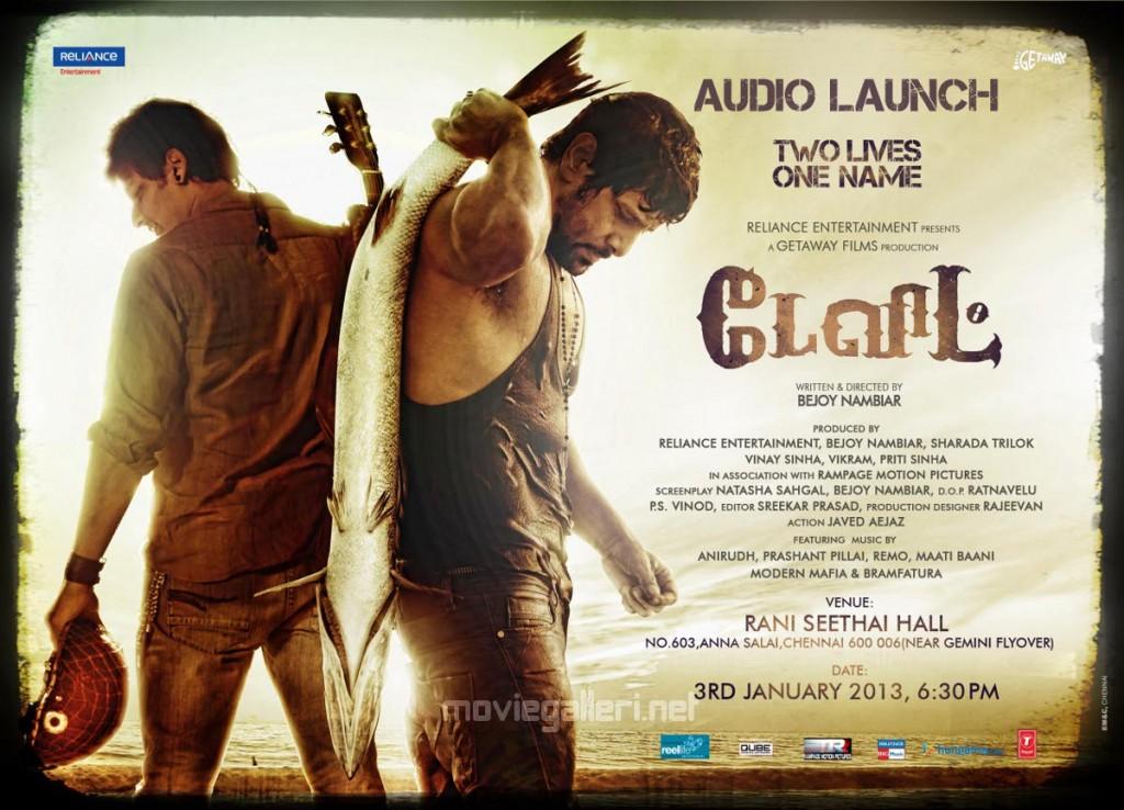 David (2013) DVDRip Tamil Full Movie Watch Online