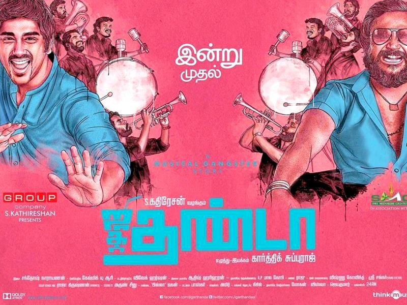 Jigarthanda (2014) HD 720p Tamil Movie Watch Online
