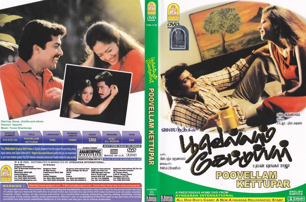 Poovellam Kettupar (1999) DVDRip Tamil Movie Watch Online