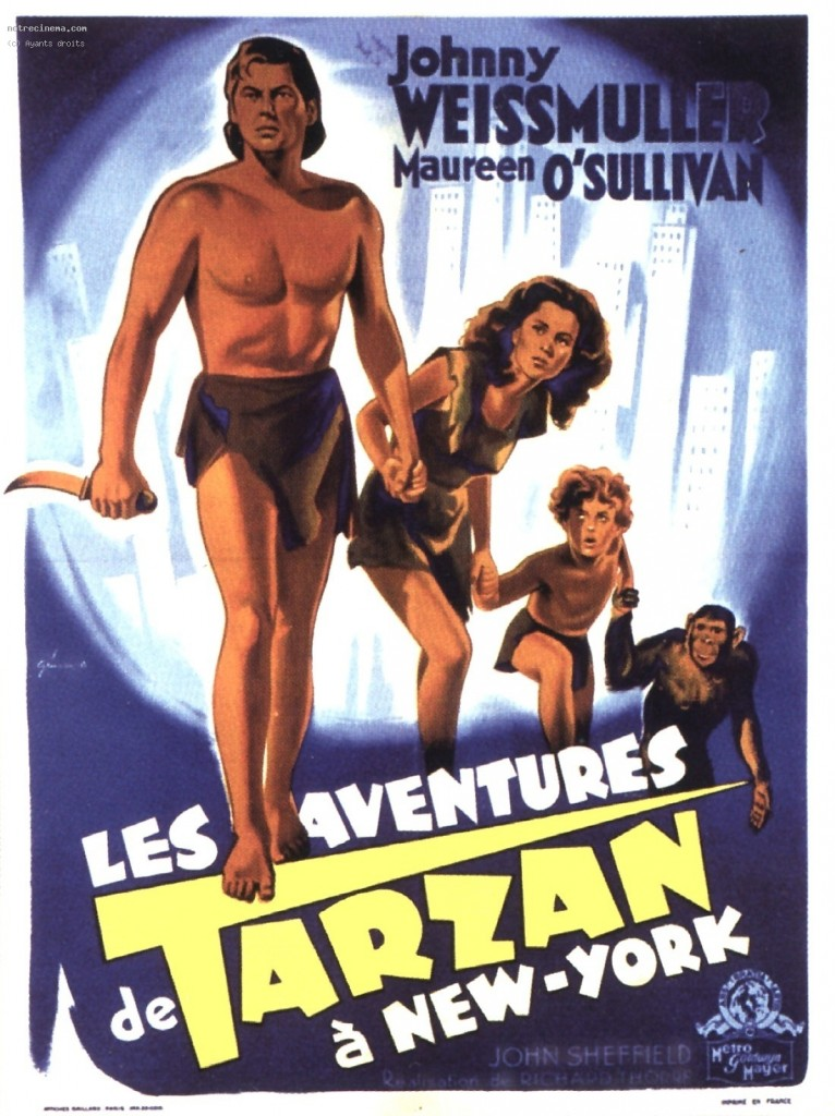 Tarzan's New York Adventure (1942) Tamil Dubbed Movie Watch Online