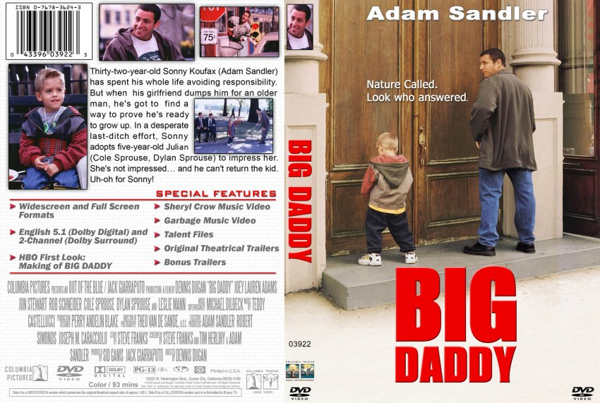 Big Daddy (1999) Tamil Dubbed Movie HD 720p Watch Online