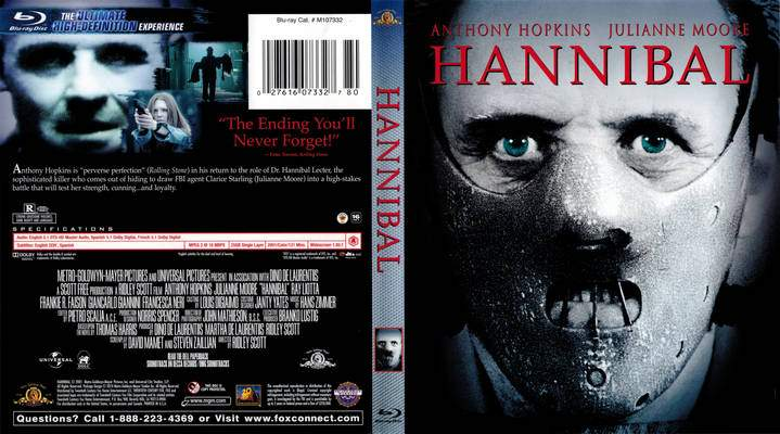 Hannibal (2001) Tamil Dubbed Movie HD 720p Watch Online