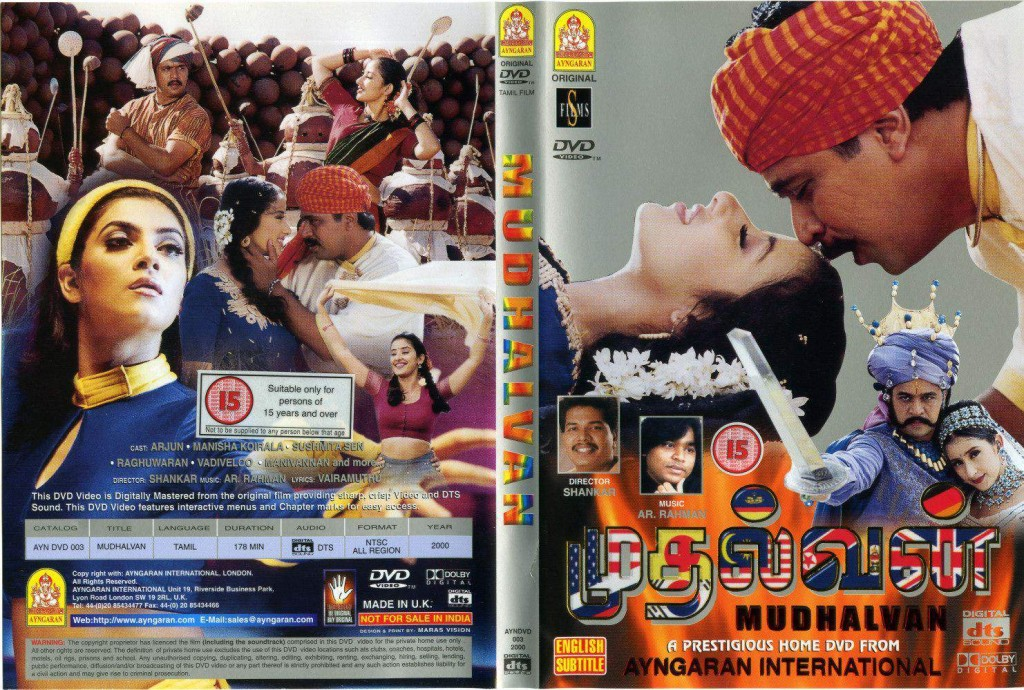 Mudhalvan (1999) DVDRip 720p Tamil Movie Watch Online