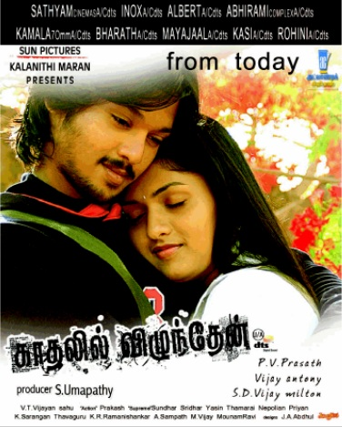 Kadhalil Vizhunthen (2008) DVDRip Tamil Full Movie Watch Online