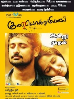 Kurai Ondrum Illai (2014) DVDRip Tamil Movie HD Watch Online