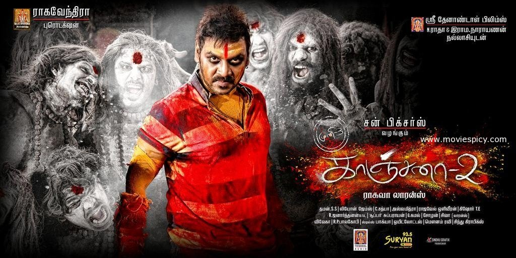 Kanchana 2 (2015) HD DVDRip Tamil Full Movie Watch Online