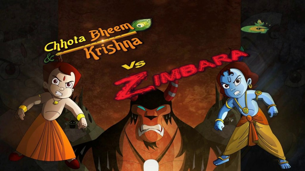 Chhota Bheem & Krishna Vs Zimbara (2015) Tamil Dubbed Movie DVDRip Watch Online