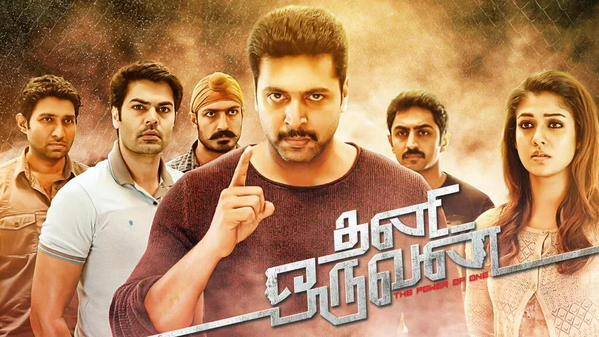 Thani Oruvan (2015) HD 720p Tamil Movie Watch Online