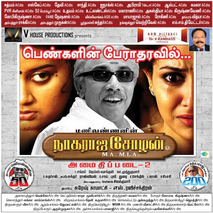 Nagaraja Cholan MA, MLA. (2013) HD 720p Tamil Movie Watch Online