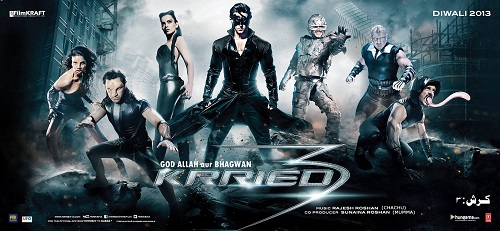 Krrish 3 (2013) Tamil Dubbed Movie HD 720p Watch Online