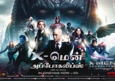 X-Men: Apocalypse (2016) Tamil Dubbed Movie HDRip 720p Watch Online (Clear Audio)