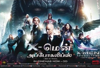 X-Men: Apocalypse (2016) Tamil Dubbed Movie HD 720p Watch Online