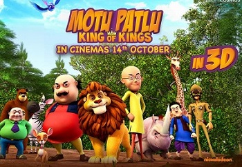 Motu Patlu King of Kings (2016) Tamil Dubbed Movie HQ DVDRip Watch Online