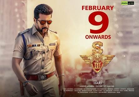 Singam 3 (2017) HD DVDRip Tamil Full Movie Watch Online