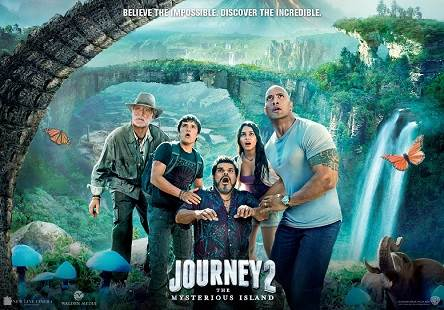 Journey 2: The Mysterious Island (2012) Tamil Dubbed Movie