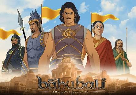 Baahubali: The Lost Legends (2017) Tamil Dubbed Cartoon Movie HDRip 720p Watch Online