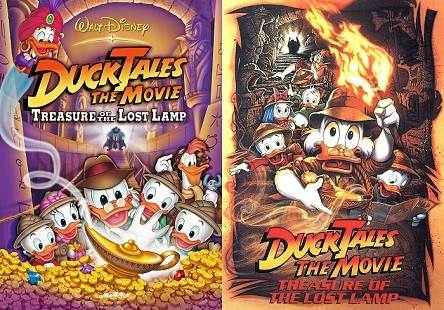 DuckTales the Movie: Treasure of the Lost Lamp (1990) Tamil Dubbed Movie HDRip 720p Watch Online