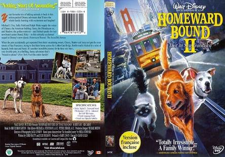 Homeward Bound 2 Lost In San Francisco (1996) Tamil Dubbed Movie HDRip Watch Online