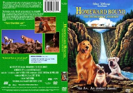 Homeward Bound The Incredible Journey (1993) Tamil Dubbed Movie HDRip Watch Online