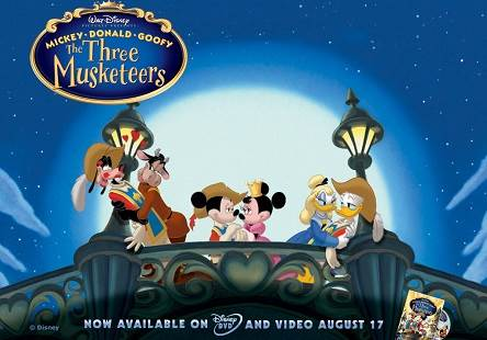 Mickey Donald Goofy The Three Musketeers (2004) Tamil Dubbed Movie HD 720p Watch Online