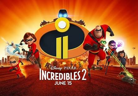 Incredibles 2 (2018) Tamil Dubbed Movie DVDScr 720p Watch Online
