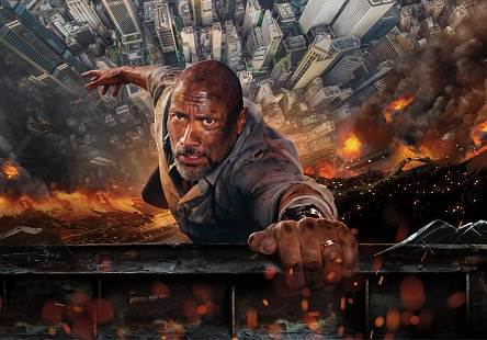 Skyscraper (2018) Tamil Dubbed Movie HD 720p Watch Online