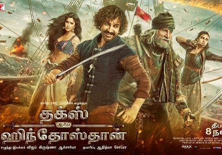 Thugs of Hindostan (2018) Tamil Dubbed Movie HD 720p Watch Online