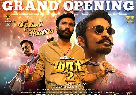 Maari 2 (2018) DVDScr Tamil Full Movie Watch Online