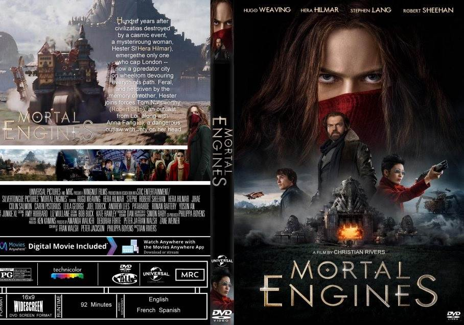 Mortal Engines (2018) Tamil Dubbed Movie HD 720p Watch Online
