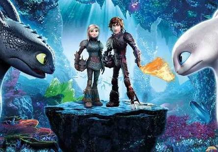 How to Train Your Dragon The Hidden World (2019) Tamil Dubbed Movie HQRip 720p Watch Online (Line Audio)
