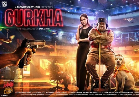 Gurkha (2019) DVDScr Tamil Full Movie Watch Online