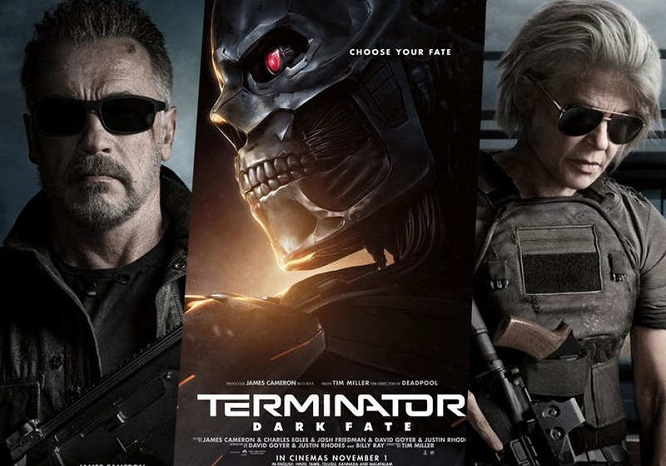 Terminator Dark Fate (2019) Tamil Dubbed Movie DVDScr 720p Watch Online
