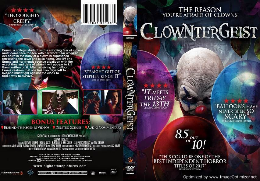 Clowntergeist (2017) Tamil Dubbed Movie HD 720p Watch Online
