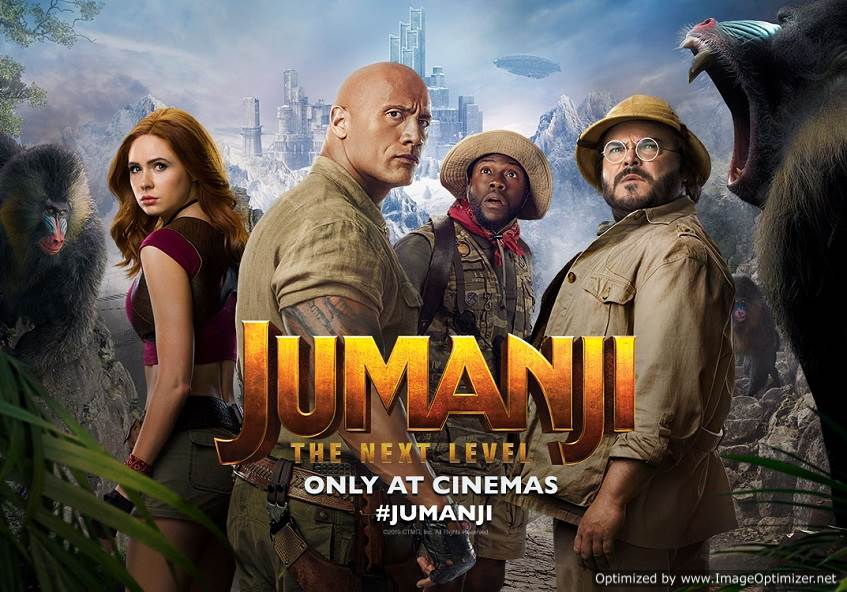 Jumanji: The Next Level (2019) Tamil Dubbed Movie DVDScr 720p Watch Online