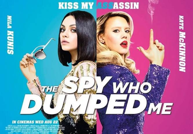The Spy Who Dumped Me (2018) Tamil Dubbed Movie HD 720p Watch Online