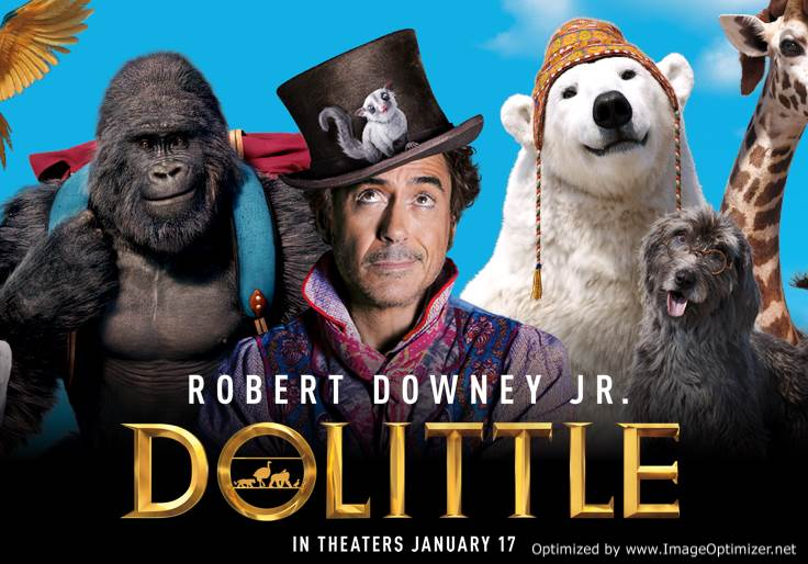 Dolittle (2020) Tamil Dubbed Movie DVDScr 720p Watch Online