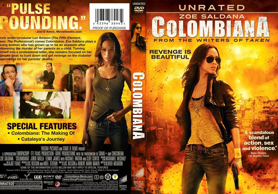 Colombiana (2011) Tamil Dubbed Movie HD 720p Watch Online
