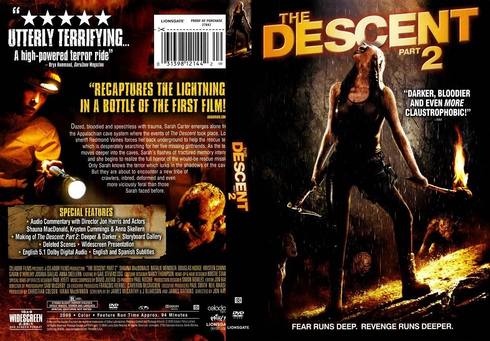 The Descent Part 2 (2009) Tamil Dubbed Movie HD 720p Watch Online