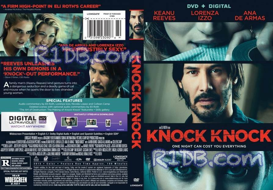 Knock Knock (2015) Tamil Dubbed Movie HD 720p Watch Online