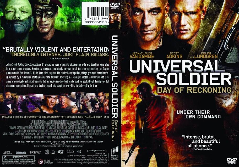 Universal Soldier Day of Reckoning (2012) Tamil Dubbed Movie HD 720p Watch Online