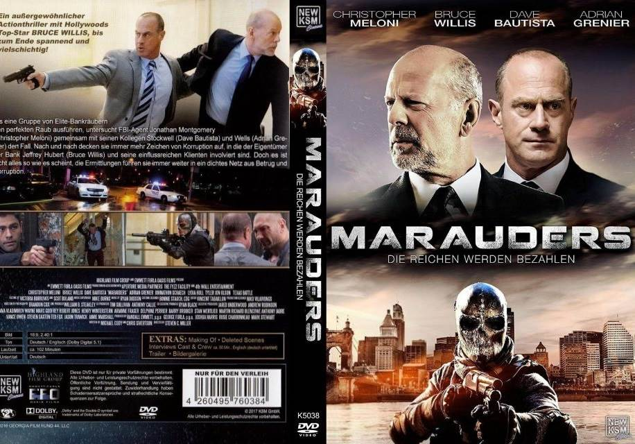 Marauders (2016) Tamil Dubbed Movie HD 720p Watch Online