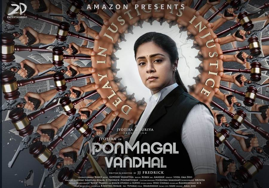Ponmagal Vandhal (2020) HD 720p Tamil Movie Watch Online