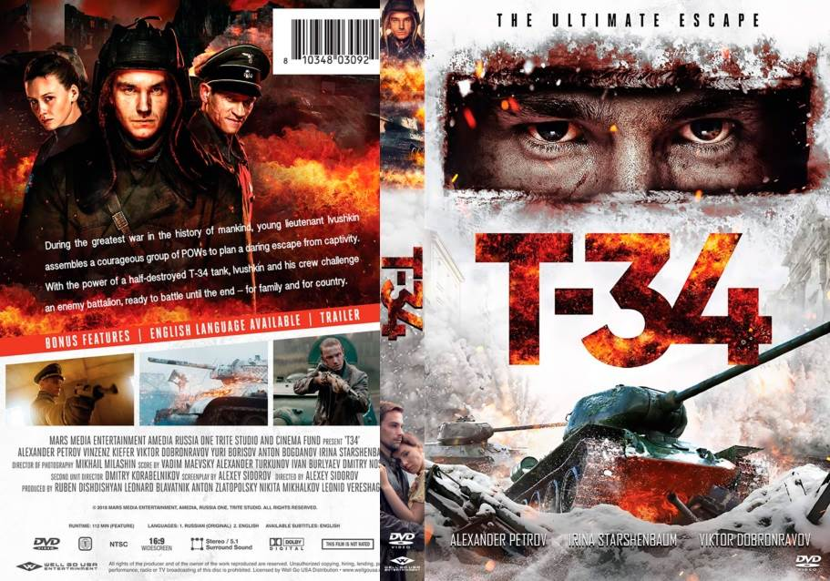 T-34 (2018) Tamil Dubbed Movie HD 720p Watch Online