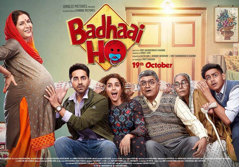 Badhaai Ho (2018) HD 720p Tamil Dubbed Movie Watch Online