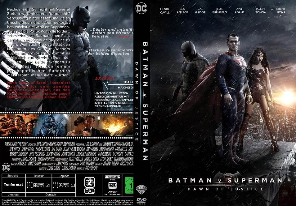 Batman Vs Superman Dawn Of Justice (2016) Tamil Dubbed Movie HD 720p Watch Online