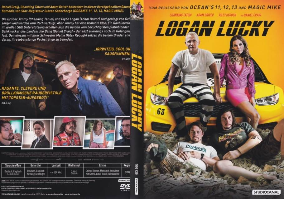 Logan Lucky (2017) Tamil Dubbed Movie HD 720p Watch Online
