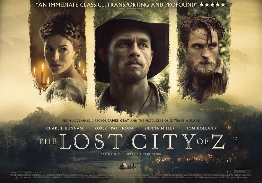 The Lost City Of Z (2016) Tamil Dubbed Movie HD 720p Watch Online