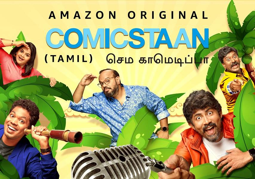 Comicstaan Semma Comedy Pa S01 (2020) HD 720p Tamil Stand-up Comedy Watch Online
