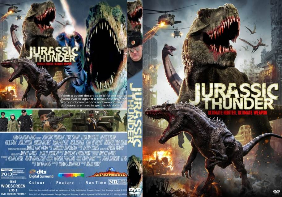 Jurassic Thunder (2019) Tamil Dubbed Movie HDRip 720p Watch Online